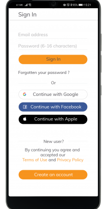 02. LoginRegistraton screen_Privacy and Terms for Creating new Account-min